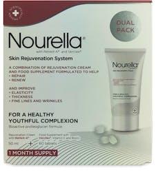 Nourella Skin Rejuvenation System Dual Pack - 60 Tablets + 50ml Cream