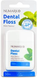 Numark Dental Floss Mint Waxed 50m