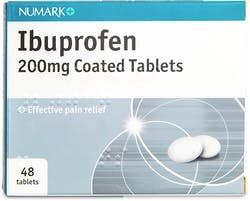 Numark Ibuprofen 200mg 48 Coated Tablets