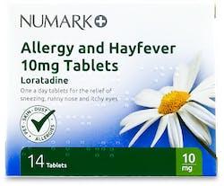 Numark Loratadine 10mg Allergy & Hayfever 14 Tablets