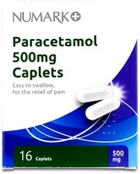 Numark Paracetamol 500mg 16 Caplets