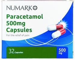 Numark Paracetamol 500mg 32 Capsules