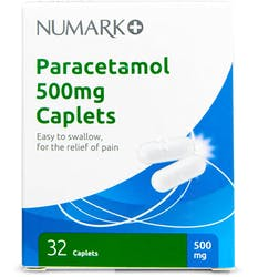 Numark Paracetamol 500mg 32 Tablets
