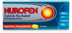 Nurofen Cold & Flu Relief Tabs 16 Tablets