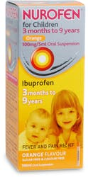 Nurofen for Children Orange Flavour 100ml
