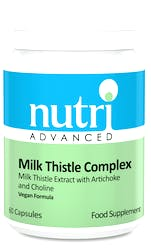 Nutri Advanced Milk Thistle Complex 60 Capsules