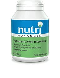 Nutri Advanced Womens Multi Essentials 60 Tablets