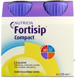 Nutricia Fortisip Compact Vanilla  4 x 125ml
