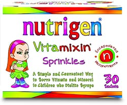 Nutrigen Childrens Vitamixin Sprinkles 30 Sachets