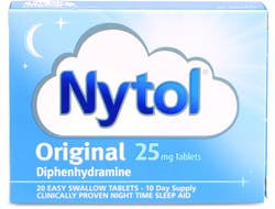 Nytol Original 25mg Tablets 20 Tablets