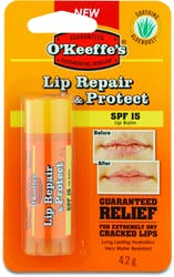 O'Keeffe's Lip Repair & Protect Lip Balm SPF15 4.2g