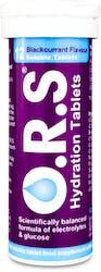 O.R.S. Hydration Blackcurrant 12 Tablets