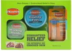 O'Keeffe's Skincare Guaranteed Relief Set