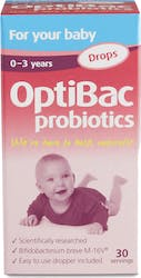 OptiBac Probiotics 'For your baby' 30-day supply of liquid drops