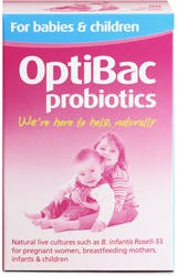 OptiBac Probiotics For babies & children 90 Sachets