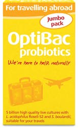OptiBac Probiotics for travelling abroad 60 Capsules