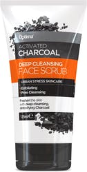 Optima Activated Charcoal Face Scrub 125ml