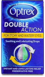 Optrex Double Action Itchy and Watery Eyes Drops 10ml