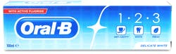 Oral-b 1-2-3  delicate white Toothpaste 100ml