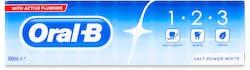 Oral-B 1-2-3 Salt Power White Toothpaste 100ml