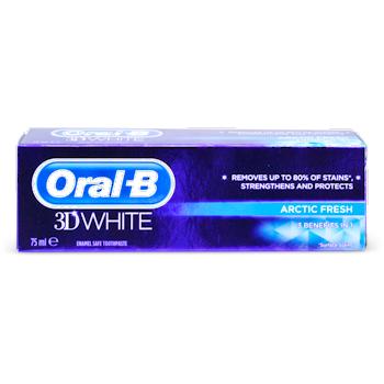 Oral-B 3D White Arctic Fresh Toothpaste 75ml