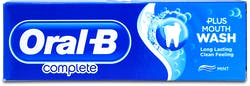Oral-B Complete Toothpaste+ Mouthwash Refreshing Clean 75ml