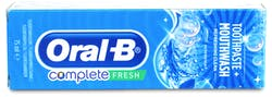 Oral-B Complete Toothpaste + Mouthwash Refreshing Clean 75ml - Peppermint