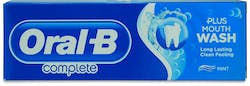 Oral-B Complete Toothpaste + Mouthwash Refreshing Clean 75ml