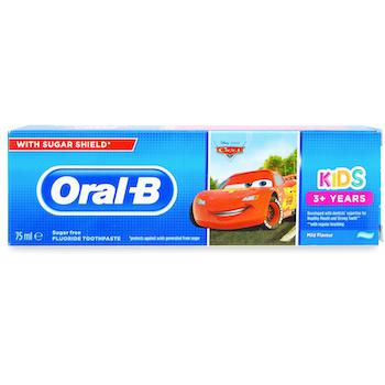 Oral-B Kids Cars Toothpaste 75ml