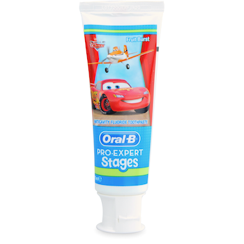 Oral-B Pro-Expert Stages Cars Toothpaste75ml