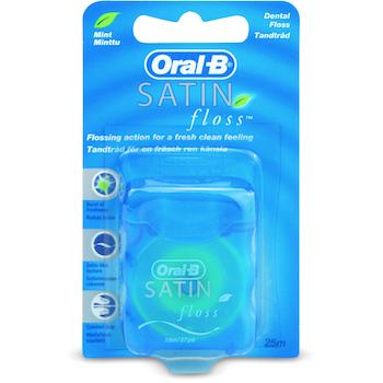 Oral-B Satin Dental Floss 25m