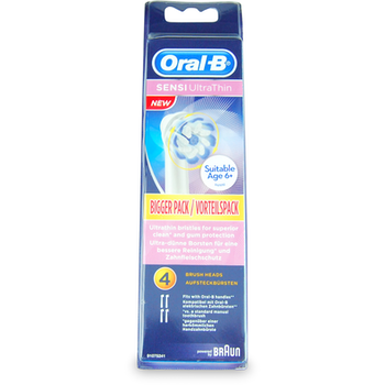 Oral-B Sensi Ultrathin Replacement Electric Toothbrush Heads 4s