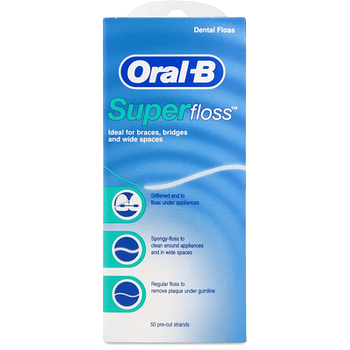 Oral-B Super Floss Pre-Cut 50 Pack