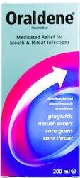 Oraldene Medicated Mouthwash 200ml