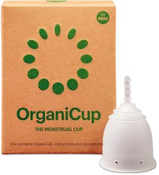 OrganiCup Menstrual Cup Size Mini