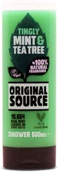 Original Source Tingly Mint and Tea Tree Shower Gel 500ml