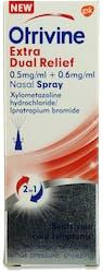 Otrivine Extra Dual Relief Spray 10ml