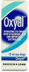 Oxyal Lubrication Eye Drops 10ml