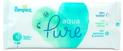 Pampers Baby Wipes Aqua Pure 12 Wipes