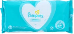 Pampers Sensitive Fragrance Free 52 Baby Wipes