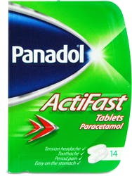 Panadol ActiFast 14 Tablets