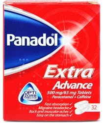 Panadol Extra Advanced 32 Tablets