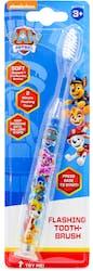 Paw Patrol Nickelodeon Flashing Toothbrush