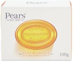 Pears Transparent Soap Bar 100g