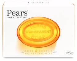 Pears Transparent Soap Bar with Natural Oils 125g