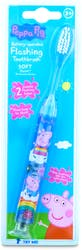 Peppa Pig Flashing Soft Toothbrush 3+