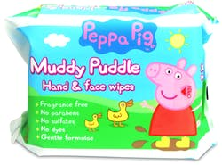 Peppa Pig Hand & Body Wipes 90's