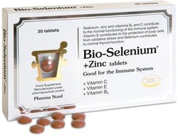 Pharma Nord Bio-Selenium + Zinc (+ Vit C, E and B6) 30 Tablets