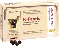 Pharma Nord K Pearls Bio-Vitamin K2 MK7 75mcg 60 Capsules