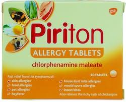 Piriton Allergy 60 Tablets